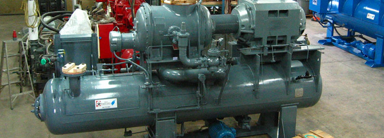 screw compressor overhauls