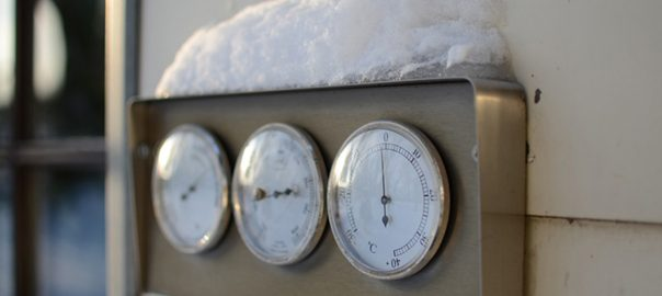 servicing industrial refrigeration in the cold